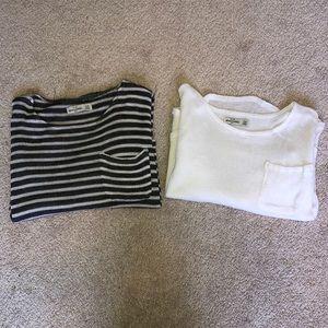 2 Abercrombie Sweaters